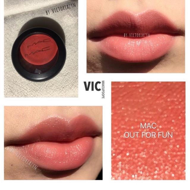 Má hồng và môi dạng kem Mac Lip & Cheek Colour0