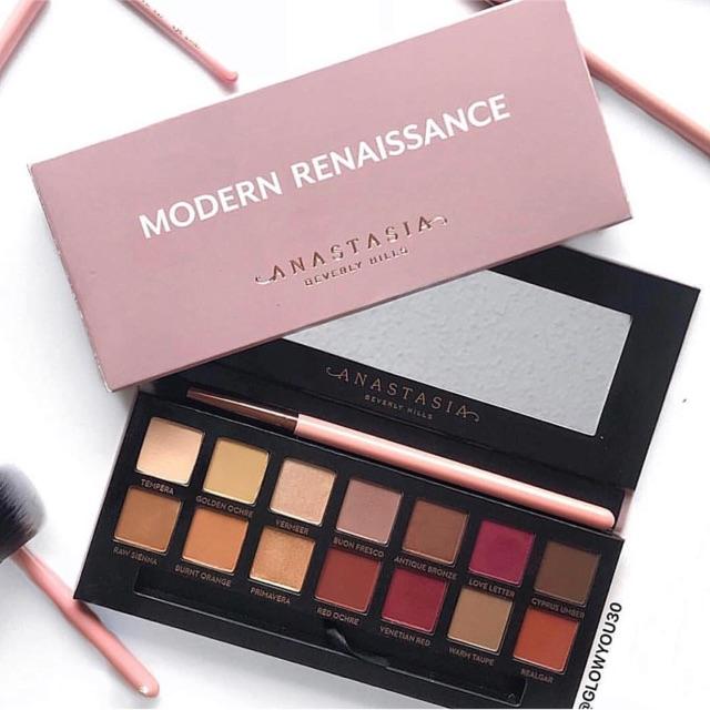 Bảng màu mắt Anastasia Beverly Hills Modern Renaissance trầy nhẹ 1 ô1