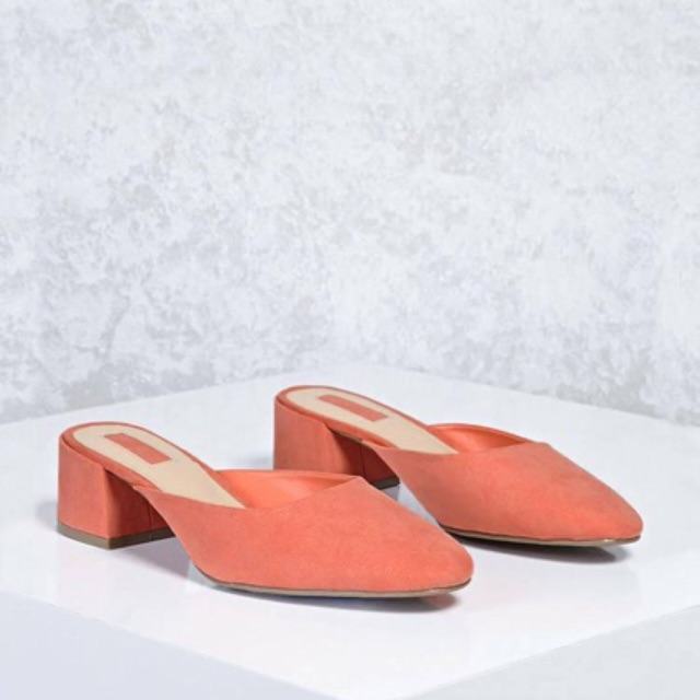 [ New 100% ] Giày Mules Forver 21 size 38 0