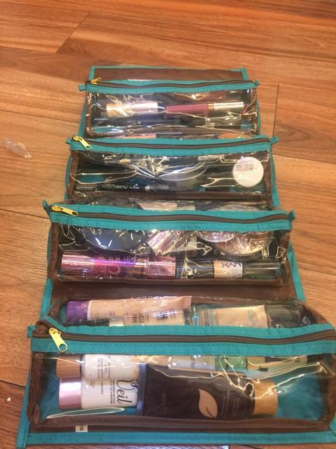 Túi Cuộn đựng đồ make up USA1