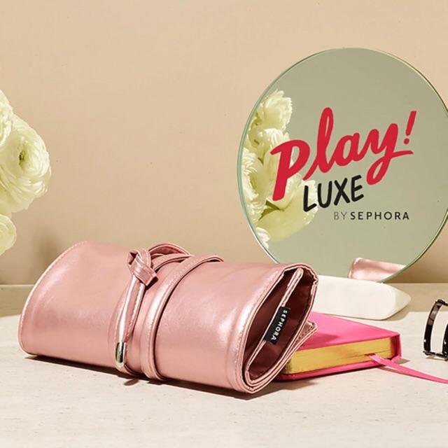 Bộ trang điểm Sephora Play Luxe Limited kèm túi0