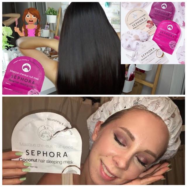 Mặt nạ ngủ cho Tóc Overnite Hair Sleeping Mask Sephora0