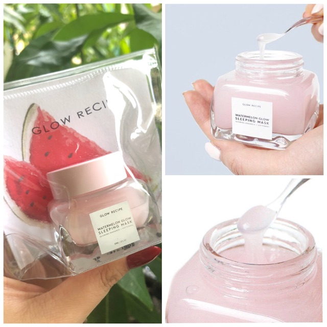 Mặt nạ ngủ Glow Reciept Watermelon Sleeping Mask0