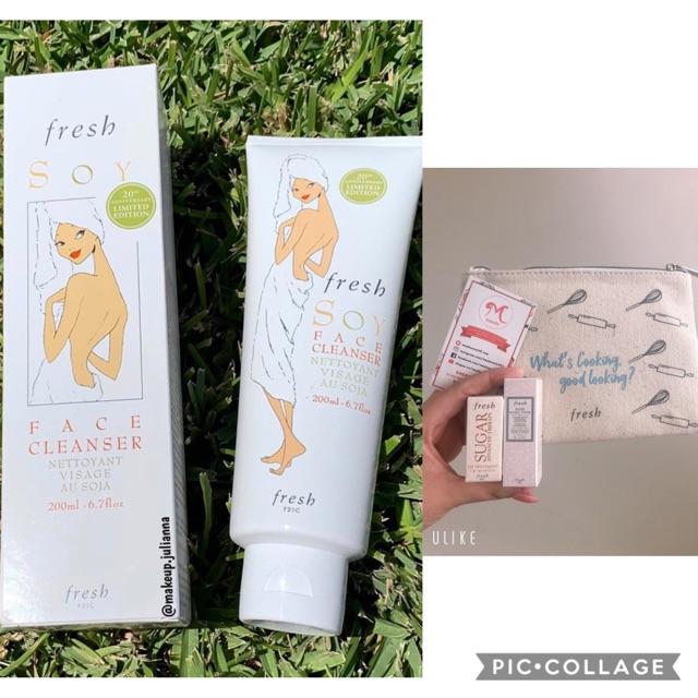 [ Kèm quà tặng ] Sữa rửa mặt Fresh Soy Face Cleanser 0