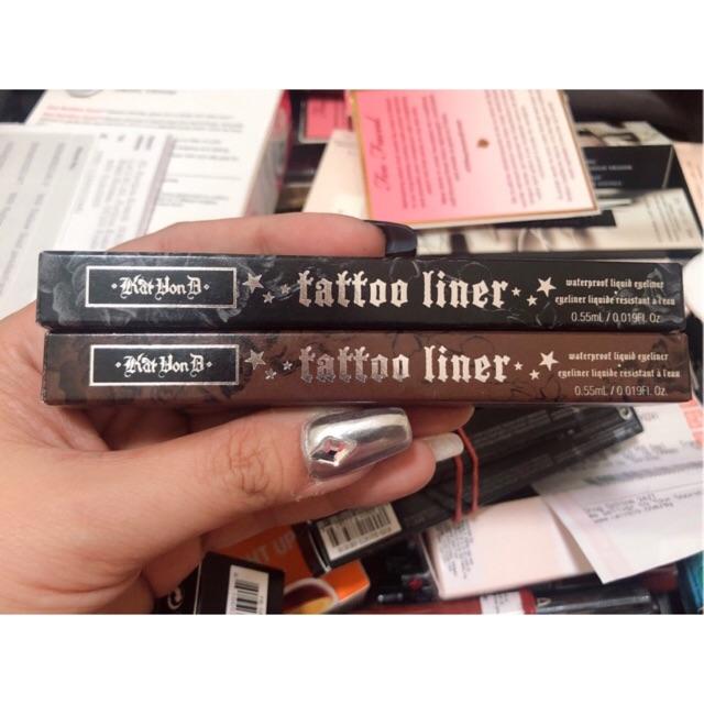 Kẻ mắt nước Kat Von D Tatoo Liner – Trooper 0