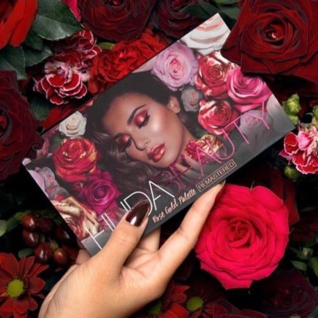 Bảng mắt Huda Rosegold Remastered Palette0