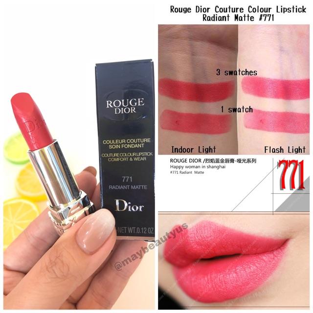 Son lì Dior Rouge Radiant Matte màu 7710