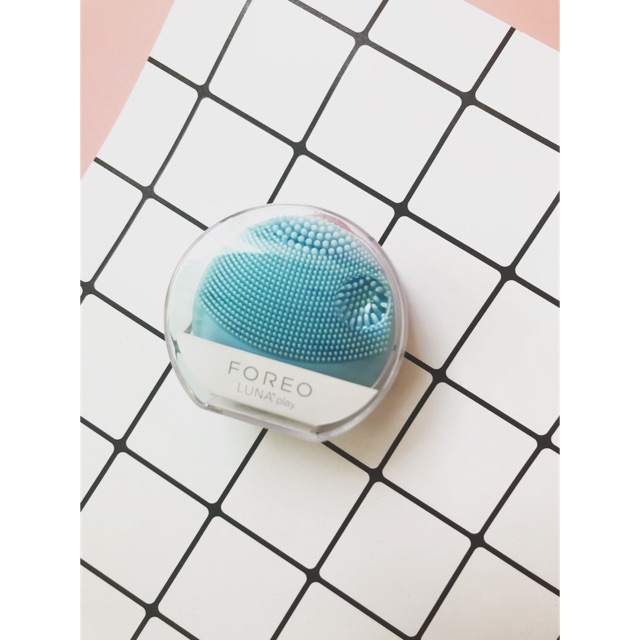 Máy rửa mặt Foreo Luna Play xanh dương 0